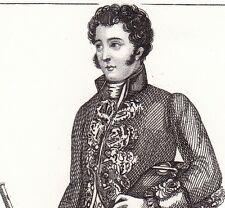 Aide des Cérémonies Napoléon Bonaparte Premier Empire 1846 Uniforme Costume