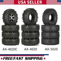 ZOPQOI 4Pcs 2.2 Inch 127mm Rock Crawler Tires 1/10 RC Rock Crawler ...