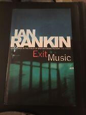 "First Edition Ian Rankin ""Exit Music"""