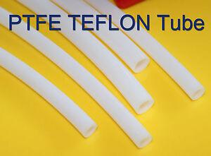 1m Length OD 9mm ID 7mm PTFE Tubing Tube Pipe hose per meter