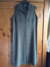 Ladies Vintage 90s Button Down Dress Size 18 20