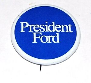1976 GERALD FORD campaign pin pinback political button presidential election PIN