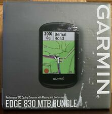 Garmin Edge 830 MTB Bundle Mountain Bike GPS