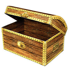 Large Pirates Treasure Chest Box 12'' - Pirate Treasures Theme Party Decoration