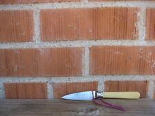 "Vintage 2 3/4"" Blade * ROBERT * Sheffield Carbon Lady Paring Knife ENGLAND"