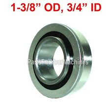"FLANGED BEARING, SEALED 1-3/8"" OD, 3/4"" ID, GO KARTS, REPL IH-384881, MANY USES"