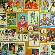 1969-70/80's+NHL Lot**Gordie Howe/Gretzky/Orr/Dryden/Plante/Lafleur/Rocket/Lach+