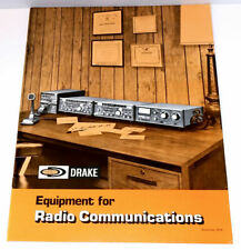 RARE 1979 DRAKE EQUIPMENT FOR RADIO COMMUNICATIONS CATALOG AMATEUR HAM SHORTWAVE
