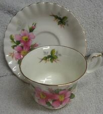 Royal Albert Prairie Rose  Cup and Saucer