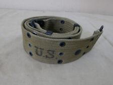 #43 original US Army ww2 acoplamiento pistol Belt m36 cinturón de Depot