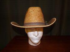 Civil War Reenactment Mens Hecho En Mexico Men's Straw Cowboy Hat with Band