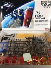 BANDAI  THE ART OF GUNDAM  OSAKA 1/144 RX-78-2 METALLIC EDITION