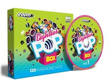 Zoom KARAOKE Anni Ottanta Pop BOX - 120 Classic 80s KARAOKE HITS - 6 CD + G disco Pack