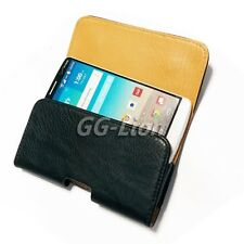 Pouch Holster Leather with Belt Clip Case Cover for LG G3 D850 for AT&T