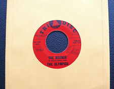 """7"""" The Olympics - The Bounce/ Fireworks - US Tri Disc"""