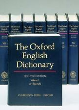 The Oxford English Dictionary Set, Vols. 1-20 (1989, Hardcover, Revised)
