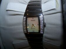 RADO Sintra Jubile Diamond High-Tech Ceramic Swiss Quartz Ladies Watch Unused