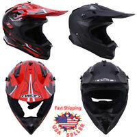 DOT Adult Helmet Dirt Bike ATV Motocross Motorcycle MX Off Road Mountain Sport