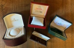 Lot of Vintage Rare Original Rolex Audemars Piguet Omega Box