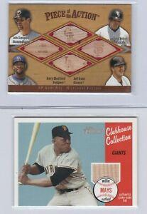 Baseball Relics BAT & SEAT. Your Choice.