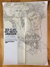Glanz des Hauses Amberson (Kinoplakat '65)- Joseph Cotten / Orson Welles / Atlas