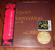 Fairport Convention - Nine / JAPAN MINI LP SHM CD (2009) NEW +4 bonus tracks