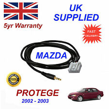Mazda Protege AUX 3.5mm Input Audio cable High Quality Sound model year 02-03