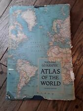 "VINTAGE BOOK 1975 4TH EDITION OF NATIONAL GEOGRAPHIC ""ATLAS Of THE WORLD"""
