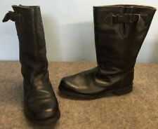 Motorcycle Leather Medium (D, M) Unbranded Boots for Men
