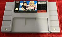 Wayne's World (Super Nintendo Entertainment System, 1993) SNES Authentic TESTED