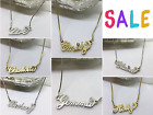 Name Necklace - Personalised - Gold / Silver Tone - Your Name - Stocking Filler