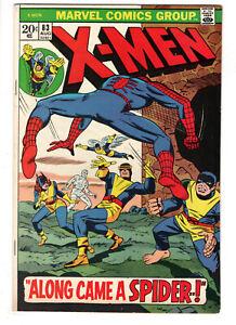 UNCANNY X-MEN #83 (1973) - GRADE 7.0 - REPRINT OF ISSUE 35 - SPIDER-MAN APP!