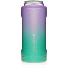 Brumate Hopsulator 12 oz Slim Insulated Can Cooler Glitter Mermaid