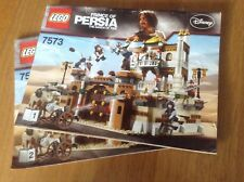 Lego Prince Of Persia 7573 Battle of Alamut - instructions only - free postage