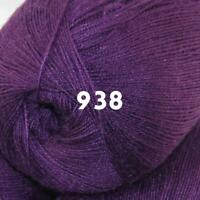 Sale 1 Skein x50g LACE Soft Acrylic Wool Cashmere hand knit Crochet Wrap Yarn 38