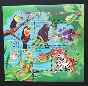 GRENADA-CARRIACOU...-Fauna, Animals, Birds ..,1M/Sh, MNH**,GG 016