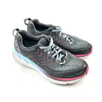 Hoka One One Clifton 4 Womens Running Shoes Gray Pink 1016724-CRAS Size: 9.5