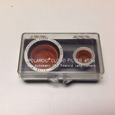 Polaroid #516 Cloud Filter f/ Pack Cameras w/ Glass lens 100 103 250 340 450 etc