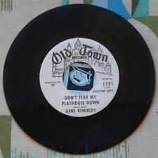 Gene Kennedy 45 Don't Tear My Playhouse Down 1962 Country Bopper Rockabilly VG++