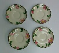 """Made in the USA Franciscan Ware Desert Rose 5 1/2"""" Saucer Pristine!"""