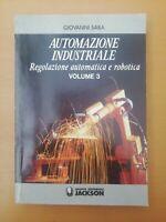 SABA 1995 JACKSON Automazione Industriale Volume 3 Regolazione Automatica E...