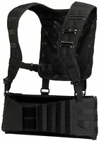 Dye Tactical Paintball Pod Harness Pack MOLLE with shoulder straps - BLACK