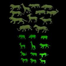 12pcs Glow In The Dark Animal Fluorescent Luminous Stickers Kids BedroomSC