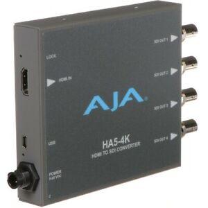 80% OFF & FREE SHIPPING MUST GO - Aja HA5-4K HDMI to 4K SDI Mini Converter