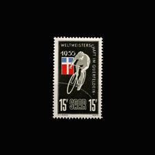 SAAR, Sc #253, MNH, 1955, Cyclist, Flag, A350SD-C