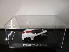 PEUGEOT 20CUP - ESC.-1/43 - CONCEPT CARS COLLECTION - ALTAYA