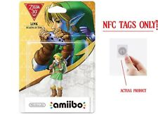 Ocarina of Time Link Amiibo, Zelda: Breath of the Wild -NFC TAG ONLY!