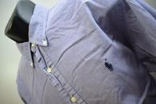 35039 Mens Polo Ralph Lauren Classic Plaid Dress Shirt Size 17 36/37 XL