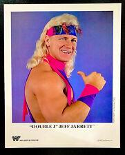 WWE DOUBLE J JEFF JARRETT P-214 OFFICIAL LICENSED AUTHENTIC 8X10 PROMO PHOTO