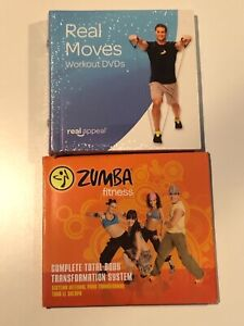 Zumba Fitness Complete Total-Body Transformation System Party 3 Disc DVD +BONUS